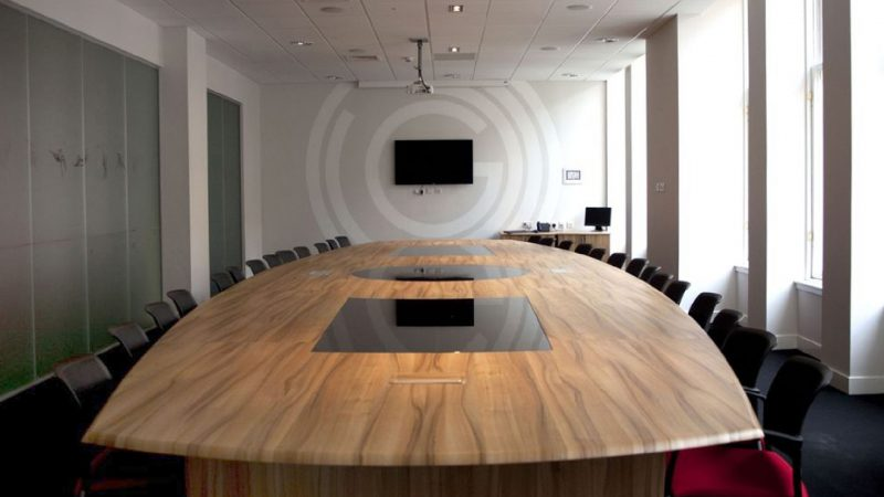 Boardroom for Glasgow 2014 Commonwealth Games