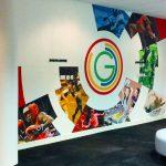 Digital Wallpaper Radiating Circles