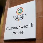External Plaque for Glasgow 2014 Commonwealth Games