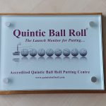 Quintic Ball Roll Plaque