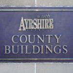 South Ayrshire County Buildings Plaque