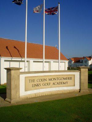 Colin Montgomerie Links Golf Academy Plaque