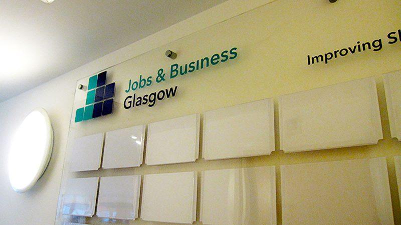 Jobs & Business Glasgow Plaque