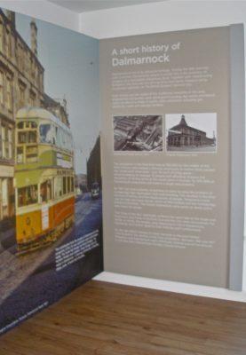 Dalmarnock History Graphic Panel