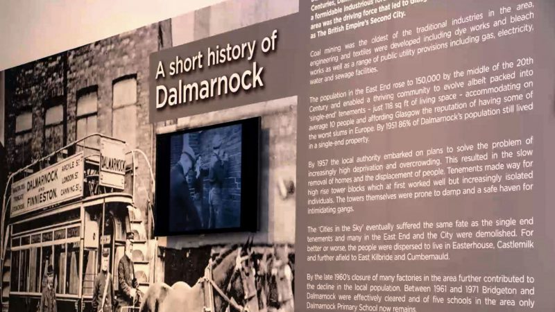 History of Dalmarnock Interpretative Panel