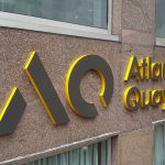 Atlantic Quay Corian Sign Letters
