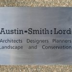 Austin Smith Stainless Steel Plaque