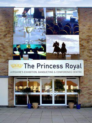 Front Entrance Signage