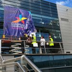 Banner Installation at Sir Chris Hoy Velodrome