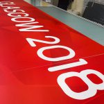 European Cycling Championships Banner Production