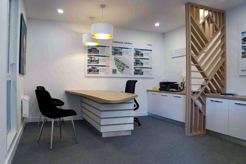 Briar Homes Marketing Suite Reception