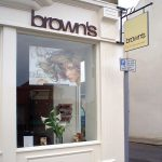 Brown's Hairdressing Fascia Signage