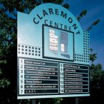 Claremont Centre Business Park Sign