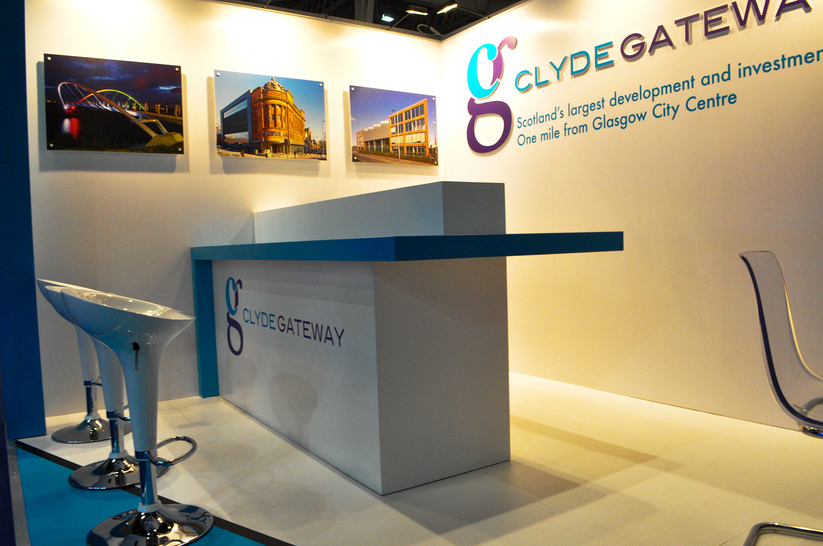 Exhibition Stand Design Glasgow : Brand satellite creates an exhibition stand for wind turbine