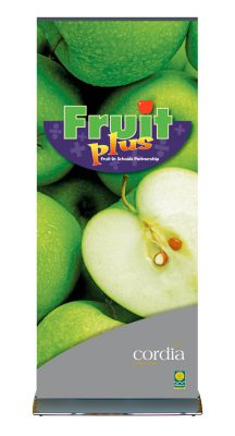 Cordia Fruit Plus Pop Up Banner