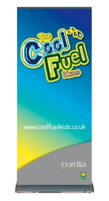 Cordia Cool Fuel Pop Up Banner