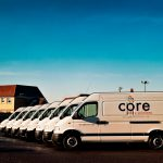 Core Utility Solutions Van Graphics