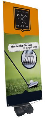 Golf Club Pop Up Banner