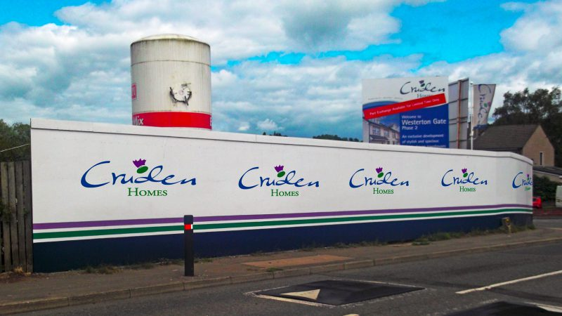Cruden Homes Construction Hoarding