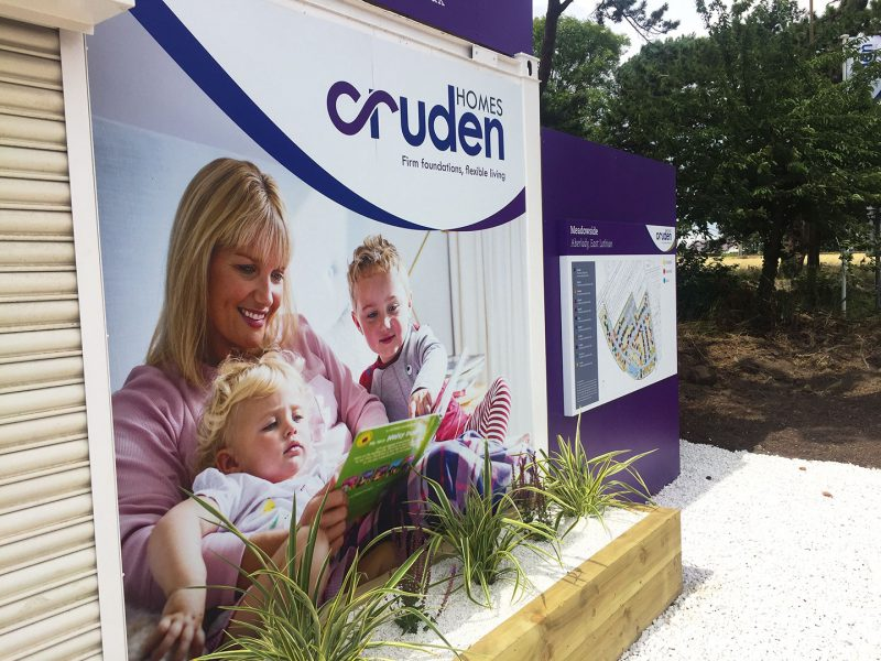 Cruden Homes Marketing Suite Cabin Graphics