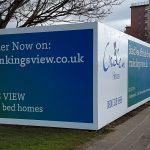 Cruden Homes Printed Hoarding