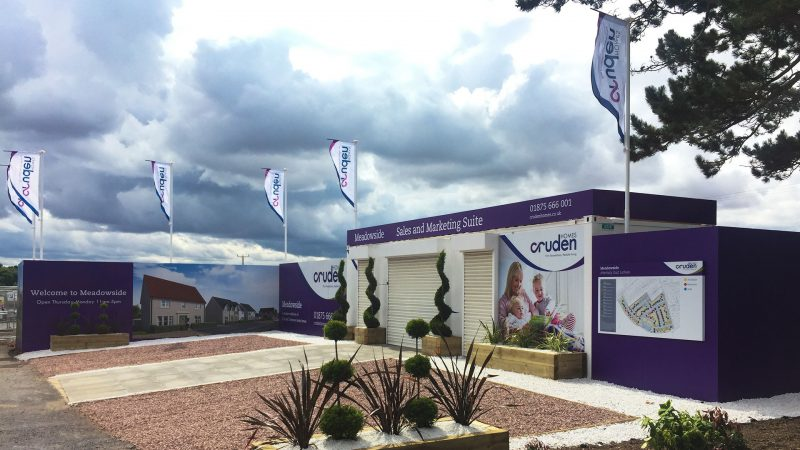 Cruden Homes Meadowside Marketing Suite