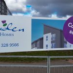 Cruden Homes Hoarding