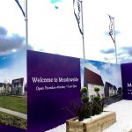 Full Colour Branded Hoarding for Property Developer