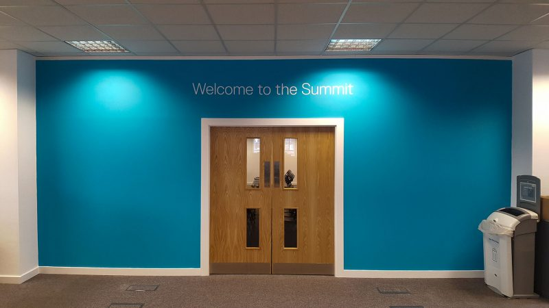 Dell Office Entrance Digital Wallpaper