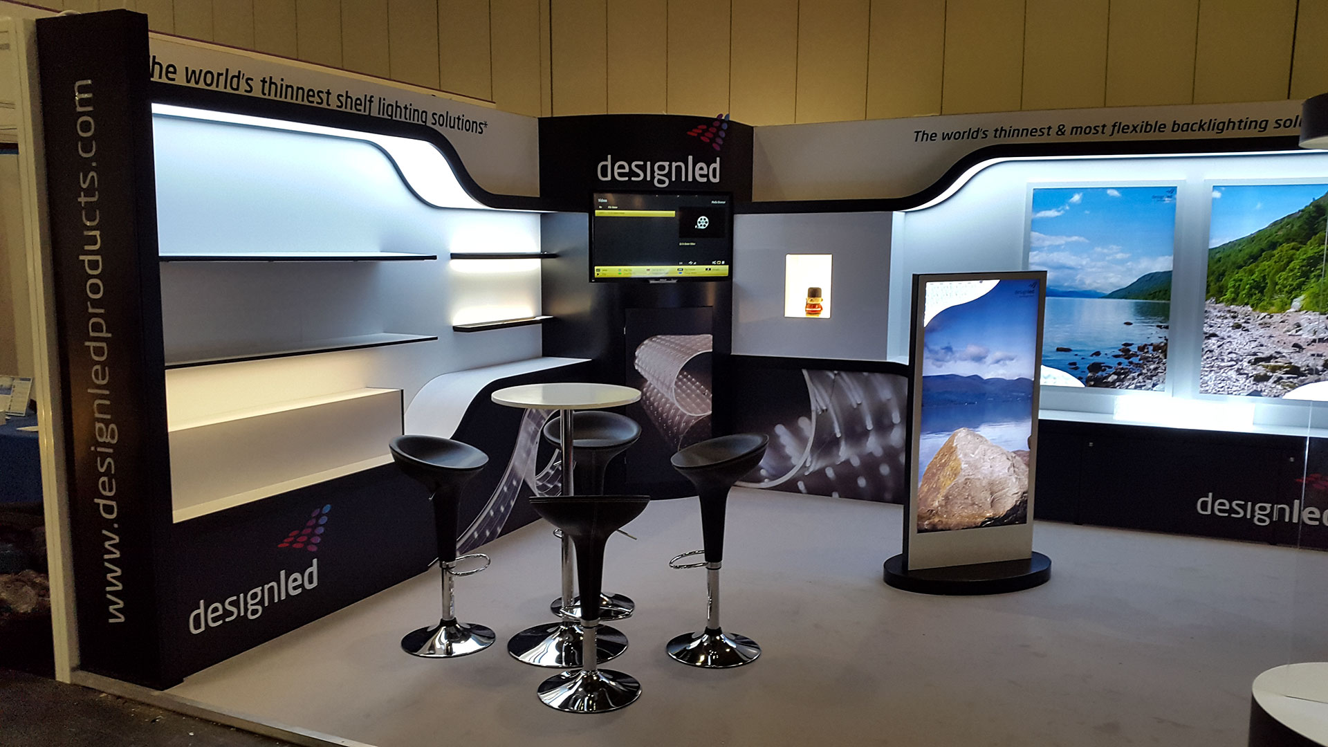 Exhibition Stand Lighting Near Me : Eaton cooper lighting custom build exhibition stands