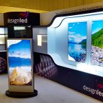 Design LED Totem Exhibition Stand