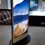 Design LED Free Standing Exhibition Stand