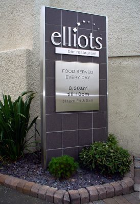 Elliots Stainless Steel Monolith