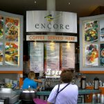 Encore Catering Cafe Signage