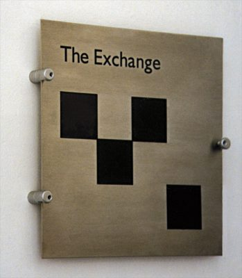 The Exchange Wall Plaque