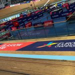 Trackside floor graphic Sir Chris Hoy Velodrome, Glasgow