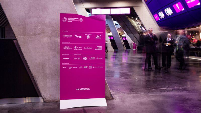 Sponsor Monolith World Gymnastics Championships Glasgow 2015