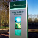 Gartloch Village Marketing Suite Monolith
