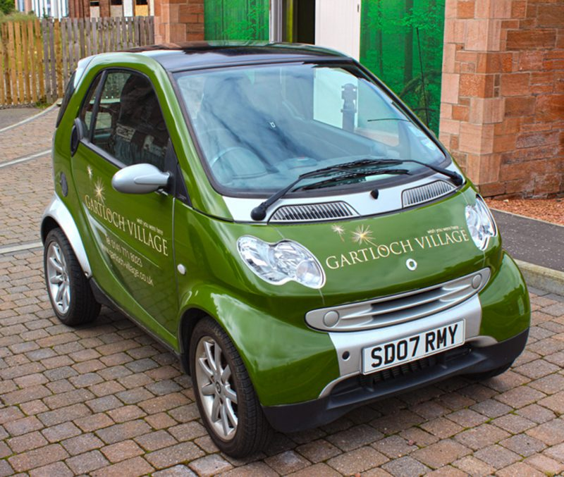 Gartloch Village Vehicle Branding