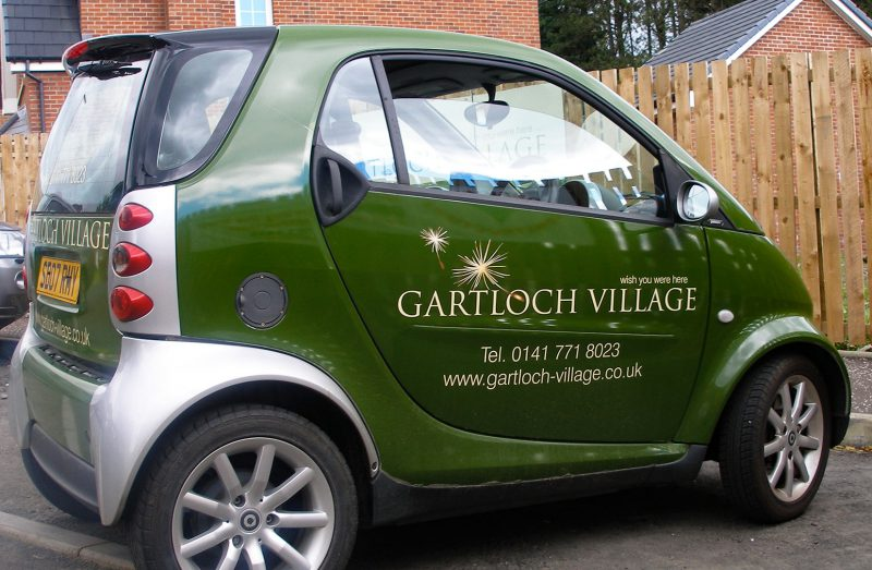 Gartloch Village Vehicle Wrap