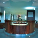 Glasgow Harbour Bespoke Marketing Suite Reception