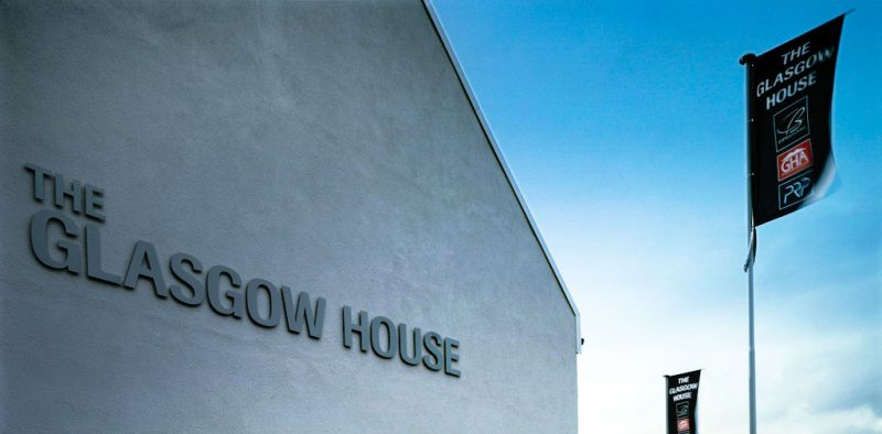 Glasgow House Cut Letters