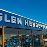Glen Henderson 3D Cut Letters Fascia