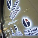 Golden Jubilee Foundation Illuminated Sign