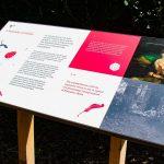 Interpretative Panel at Brodick Castle