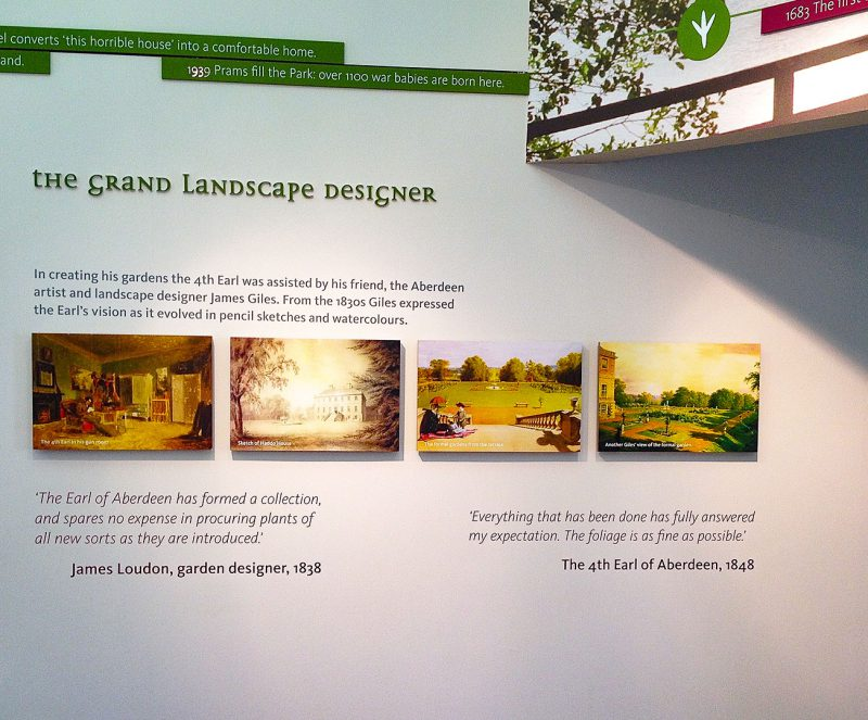 Interpretative Panels Landscape Design