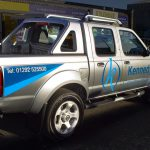 Kennedy Construction Vehicle Graphics