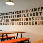 Levels Cafe 3D Sign Lettering
