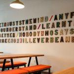 Levels Cafe 3D Sign Lettering