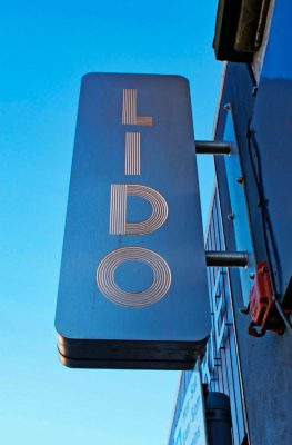 Lido Bar Projecting Illuminated Sign